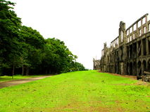 US Barracks Ruins Corregidor Stock Photography