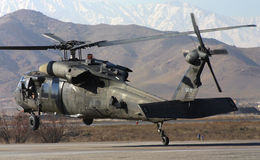 US BLACK HAWK Royalty Free Stock Photos