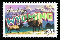 US-Briefmarke stockfotos