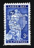 US-Briefmarke Stockfotografie