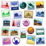 US Briefmarken Lizenzfreies Stockfoto