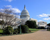 US Capital. The US Capital building in Washington DC Stock Photography