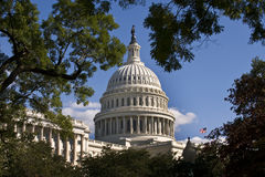 US Capital Building. Stock Photo