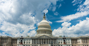 US capital building, Washington DC.  Royalty Free Stock Image