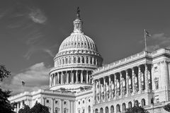 US Capital Building. Royalty Free Stock Image
