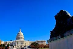 US Capital Building, Washington, DC. Stock Image