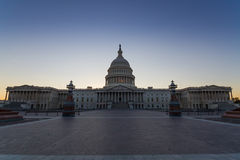 US Capital building in Washington DC, USA Stock Photos