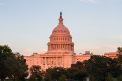 US Capital building in Washington DC, USA Stock Image