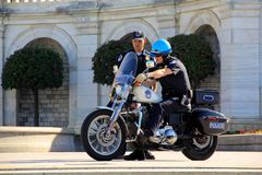 US Capital Police Officers royalty free stock image
