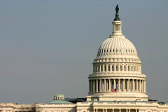 US Capitiol. Dome of US Capitol stock image