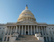 US Capitol. East side of the United States Capitol Building in Washington DC Royalty Free Stock Photography