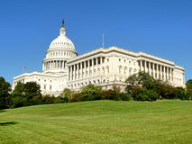 US Capitol. In Washington DC from Southwest Stock Photo