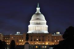 Us-Capitol Royaltyfri Fotografi