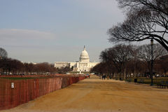 US Capitol. The Washington Mall with the US Capitol in the background royalty free stock photo