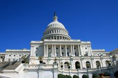 US Capitol. The United States Capitol building at Washington, DC Royalty Free Stock Images