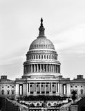 US Capitol Black and White Stock Image