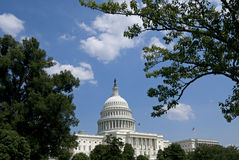 US Capitol Building Stock Image