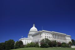 The US Capitol Building Royalty Free Stock Photography