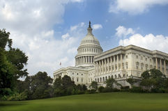 US capitol building. The place where congress meets Stock Photo