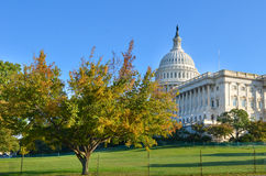 US Capitol building in autumn, Washington DC Stock Photography