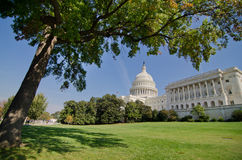 US Capitol building in Autumn, Washington DC, USA Stock Photos