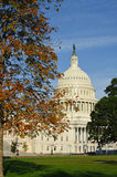 US Capitol building in Autumn, Washington DC, USA Royalty Free Stock Photography