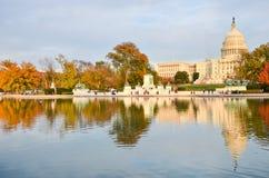 US Capitol building in Autumn, Washington DC, USA Stock Image