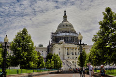 US Capitol Building Dome Restoration Royalty Free Stock Images