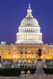 US Capitol Building dusk Royalty Free Stock Images