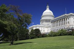 US Capitol Building and Grounds Royalty Free Stock Photo