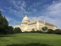 US Capitol building. Panorama in Washington DC Royalty Free Stock Photo