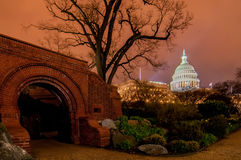 US Capitol Building in spring-. Washington DC, United States stock photo