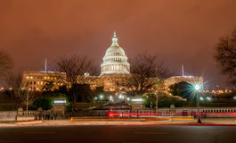 US Capitol Building in spring-. Washington DC, United States stock photography