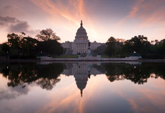 US Capitol Building Sunrise Washington DC Stock Photo
