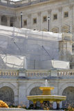 US Capitol Building under construction Stock Images