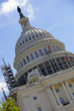 US Capitol Building under construction Royalty Free Stock Photos