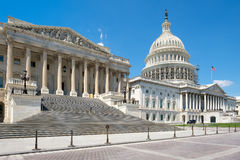 The US Capitol building in Washington D.C. Stock Image
