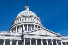 US Capitol Building in Washington DC Stock Photography