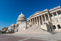 The US Capitol building in Washington, DC. Stock Image