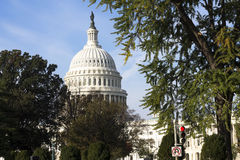 US Capitol Building. Royalty Free Stock Photography