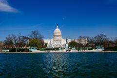 US Capitol Building Royalty Free Stock Photography
