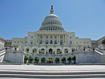 US Capitol Building Royalty Free Stock Photos