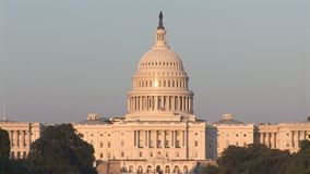 The US Capitol Building stock video footage