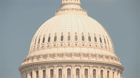 The US Capitol Building stock video