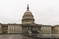 The US Capitol Building. In Washington DC Stock Photography