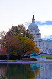 US Capitol building, Washington DC. US Capitol building at dawn in autumn colors Stock Image