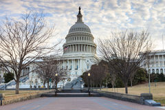 US Capitol Building Washington DC Entrance Stock Image
