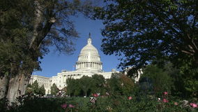 The US Capitol Building in Washington, DC. stock footage