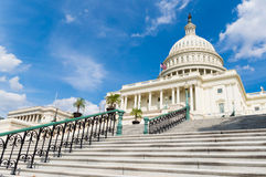 US Capitol building , Washington DC. Stairs of US Capitol building , Washington DC Royalty Free Stock Image