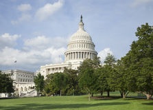 US Capitol building in Washington DC on a sunny day Stock Photography